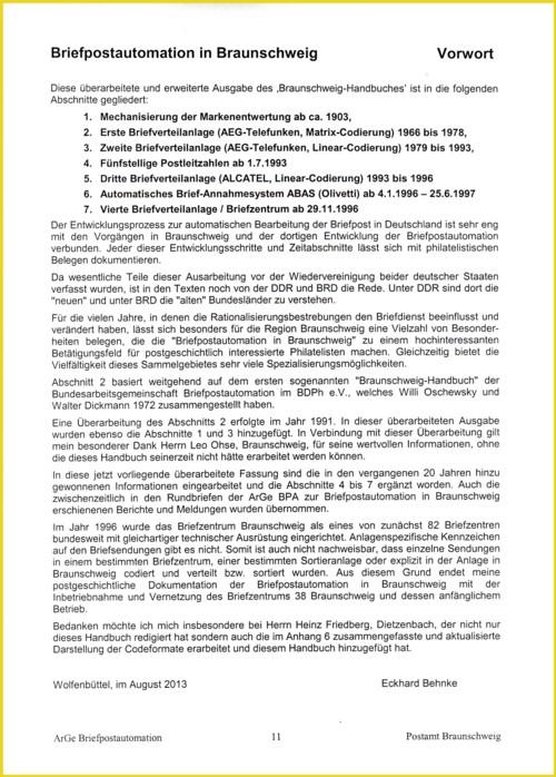 Inhalt Handbuch Braunschweig - Teil 1