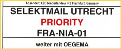 Selektrmail Utrecht - zeitweilig eine Privatpostfirma in Holland mit Beteiligung der Deutschen Post AG