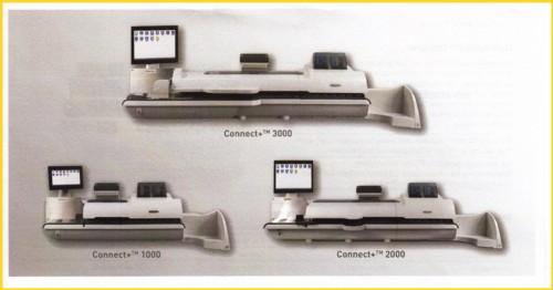 Die neue Frankit-Maschinenserie Connect+TM von Pitney Bowes