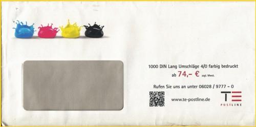 QR-Code auf dem Umschlag