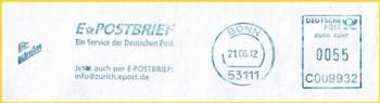 AFS mit ePost-Werbung