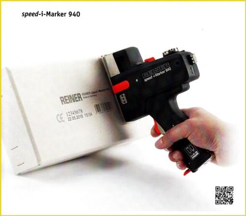 Eine Abbildung des Gerätes Speed-i-Marker 940 aus einem aktuellen Firmenprospekt Stand 01/2014
