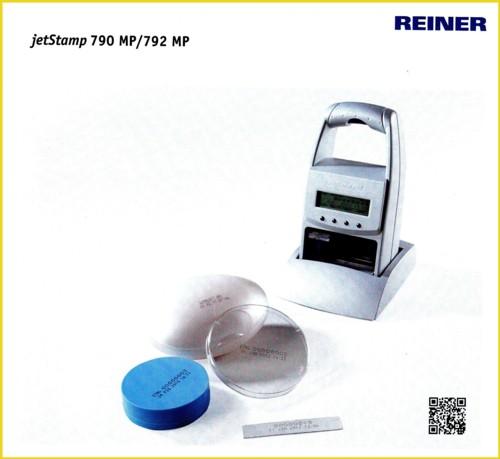 Eine Abbildung des Gerätes JetStamp 790 MP aus einem aktuellen Firmenprospekt Stand 01/2014