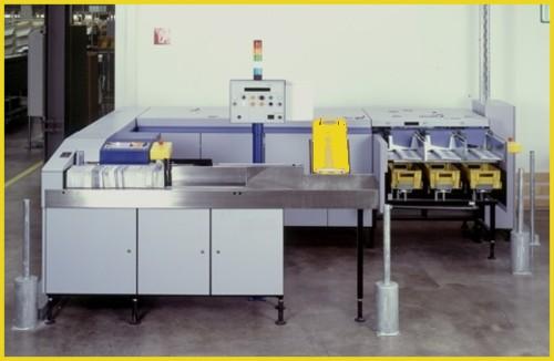 Aufstell- und Stempelmaschine AM 990/991 von AEG Electrocom