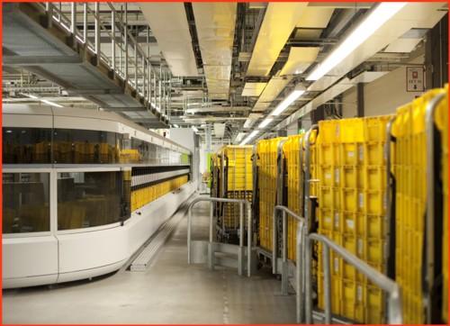 Pressefoto von Siemens - Blick von hinten von der Seite nach vorne