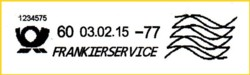 Die Standardvariante, allerdings wurde hier vergessen die Grundeinstellung bei der Zählnummer 1234567 zurück zusetzen - es ist daher der 8. Stempelabdruck nach Installation der Software